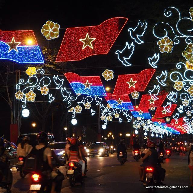 Saigon by Instagram - festive lights