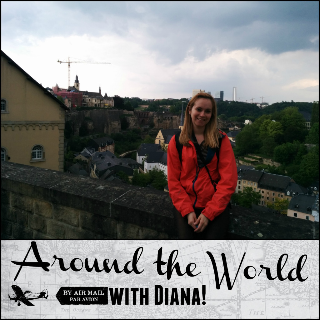 around world diana